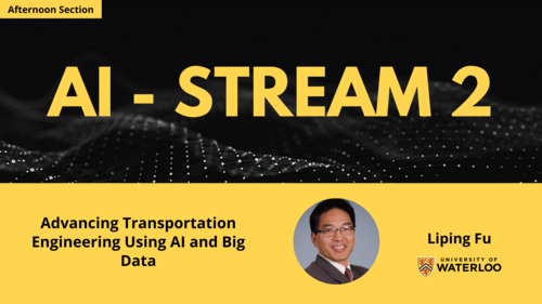 Topic - Advancing Transportation Engineering Using AI and Big Data