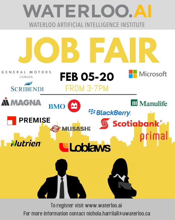 the job fair poster