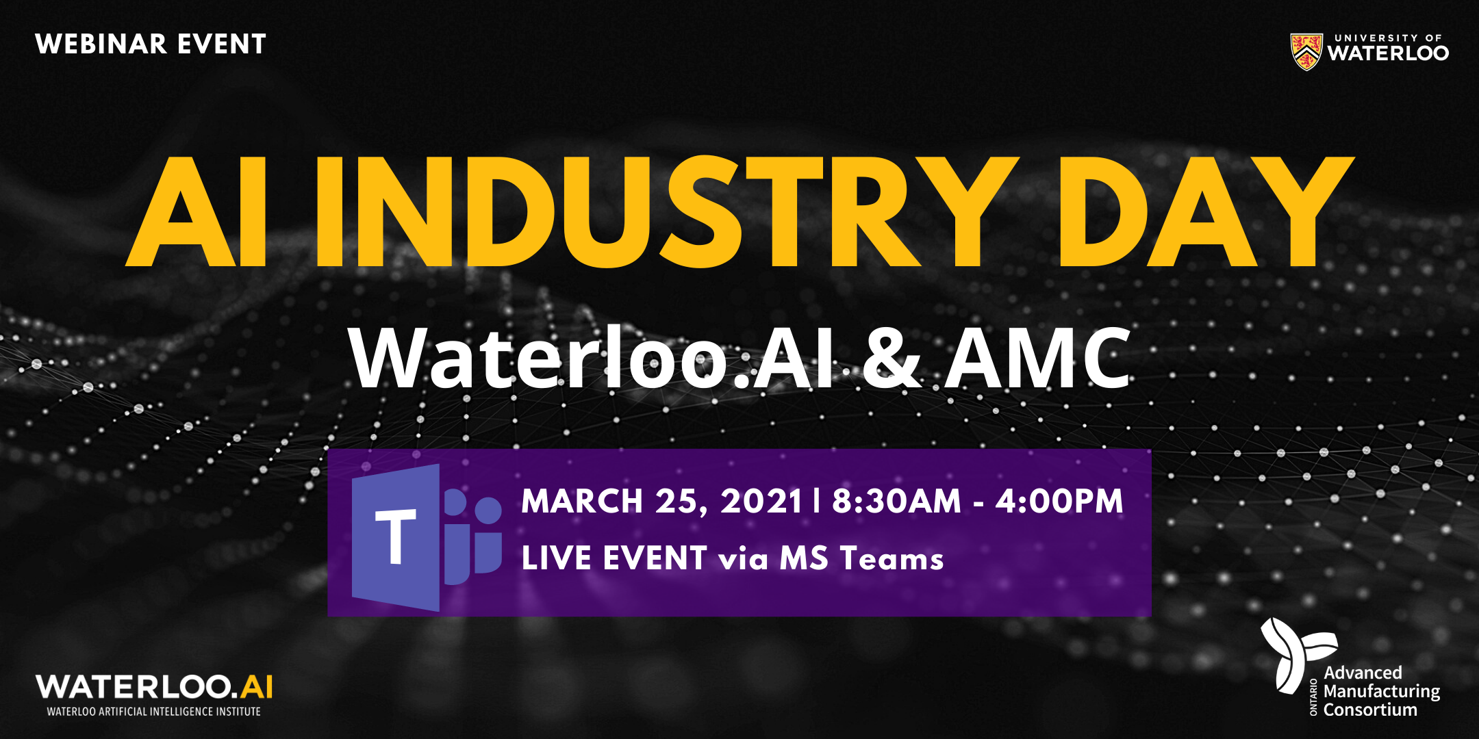 Image of  AI Industry Day Banner