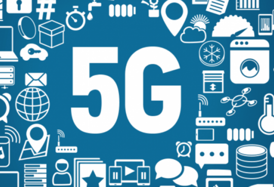 collage of things that can be used with 5G connection
