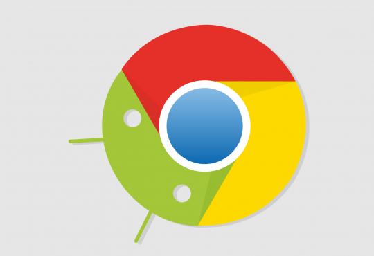 Android Chrome symbol