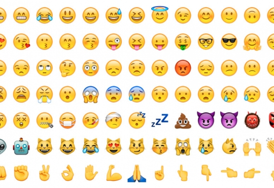 All the emojis you can use on facebook