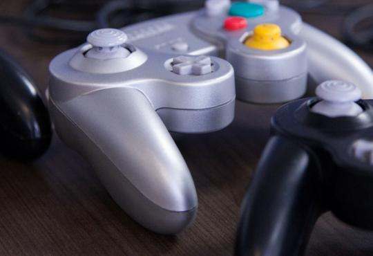 Video game controller wallpaper