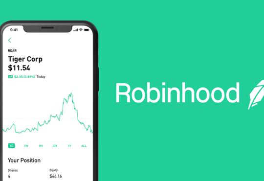 Advertisement for Robinhood