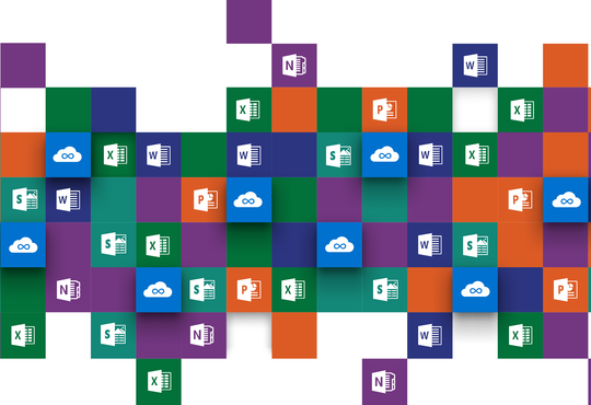 Office 365 software logos