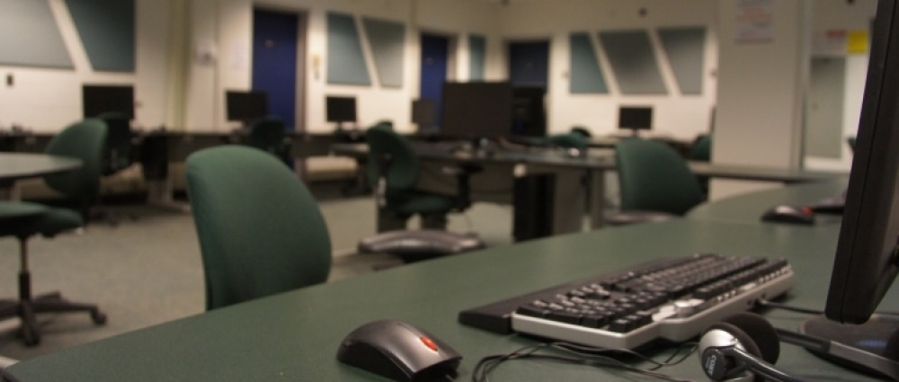 Computer lab in PAS 1098