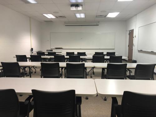 Lecture room in ML-109.