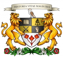 University of Waterloo History Society logo.