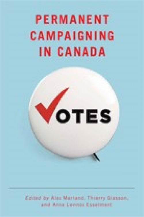 Cover of Permanent Campaigning in Canada