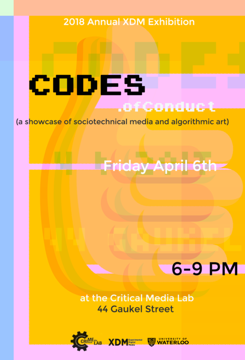 poster for event