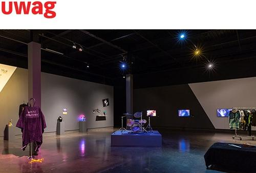 gallery with installation