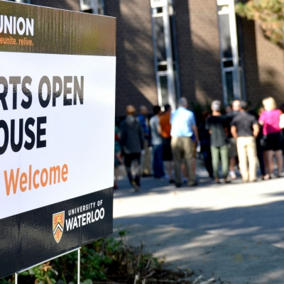 Arts Open House sign