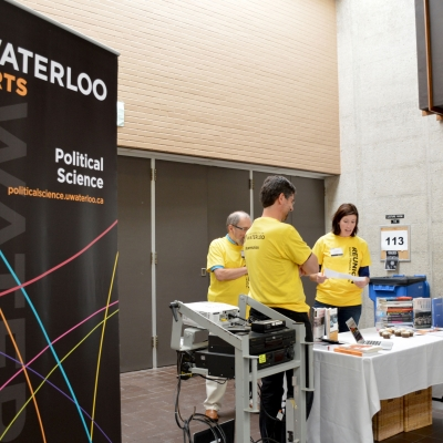 Political Science booth