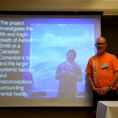 Andy Houston and powerpoint slide