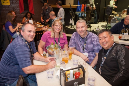 Dinner at Bomber - Reunion 2015