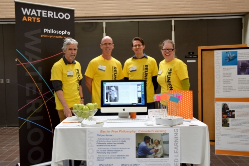 Philosophy booth