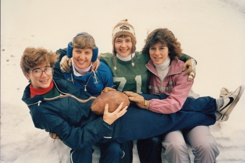 Students from the late 1980s