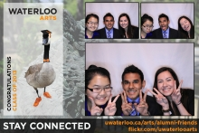 Arts convocation sample photo booth
