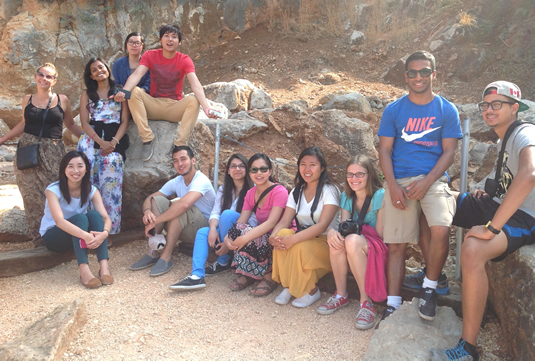 arts and business students in Isreal