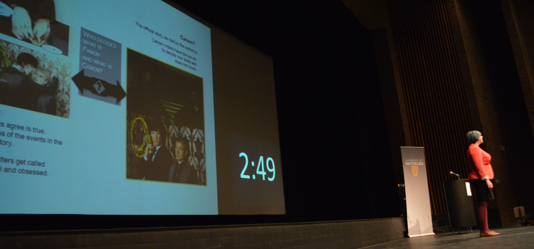 Three Minute Thesis presentation