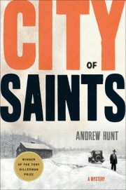 """City of Saints"" book cover."