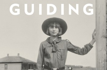 old photo of Girl Guide with the word Guiding