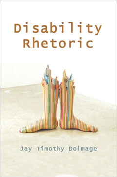 Book cover of Disability Rhetoric