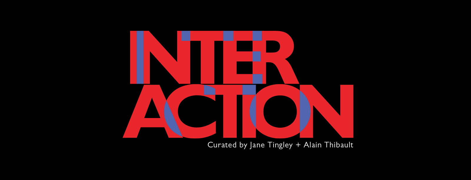 Interaction word logo