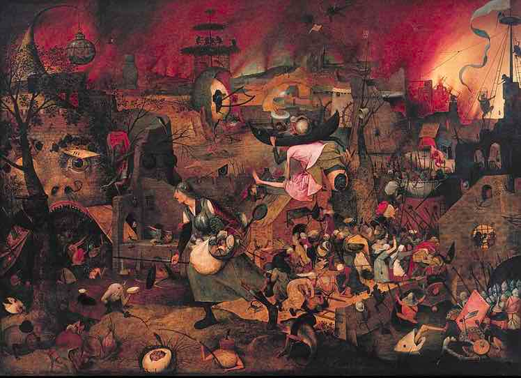 Pieter Bruegel the Elder's Mad Meg painting