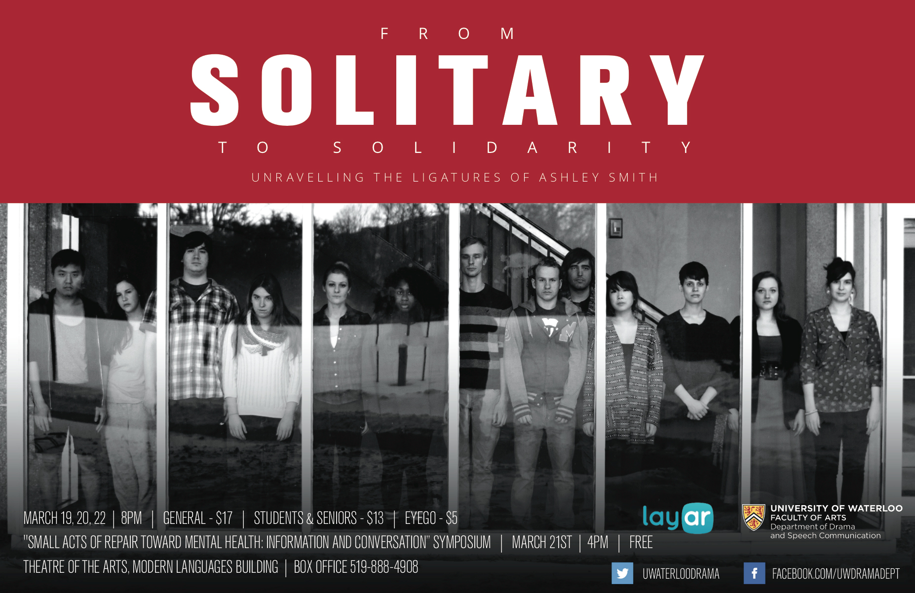 poster for the play From Solitary to Solidarity