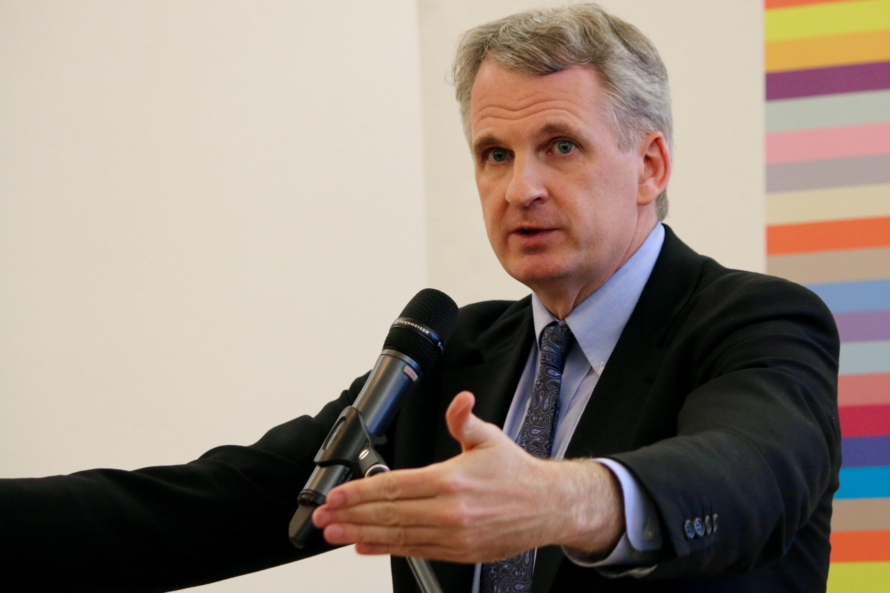 Timothy Snyder lecturing