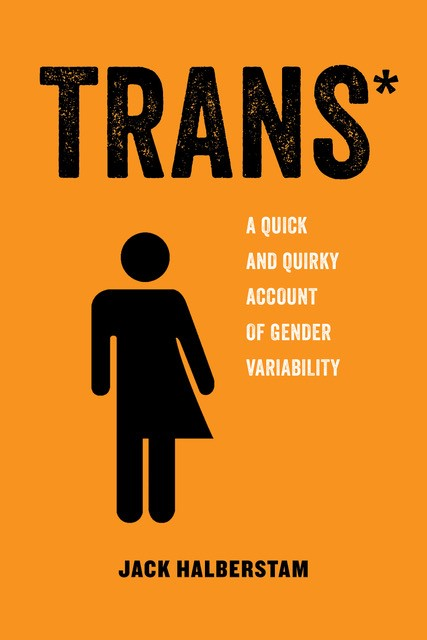 TRANS book cover with image of transgendered figure