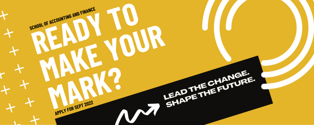 Ready to make your mark? graphic design
