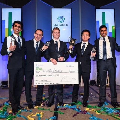 CFA Institute Research Challenge winners