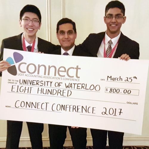 Student winners from Connect Conference
