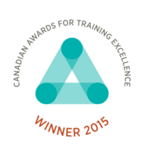 Canadian awards for training excellence logo