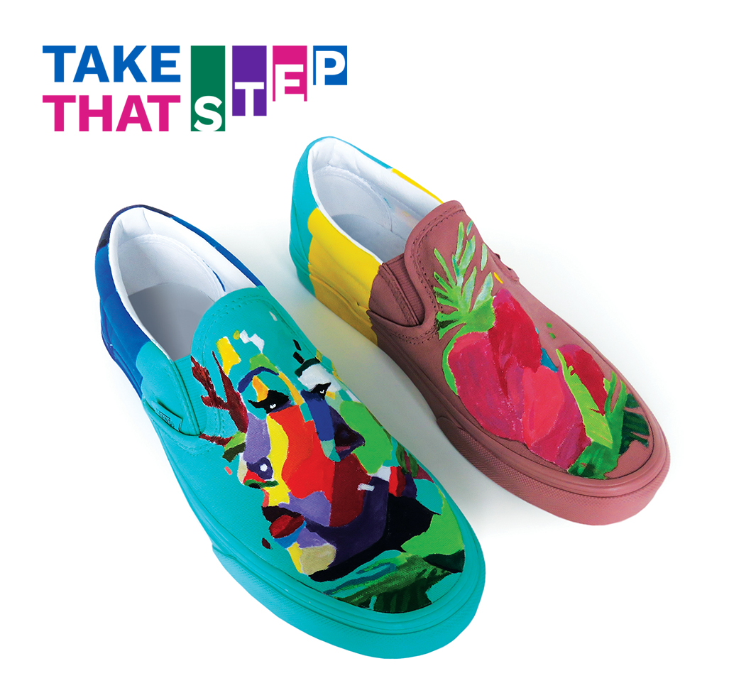 Take That First Step Campaign Logo