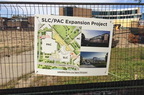 SLC PAC site signage