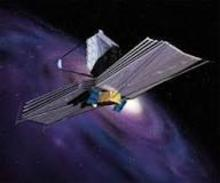 Artists rendering of the James Webb Space Telescope