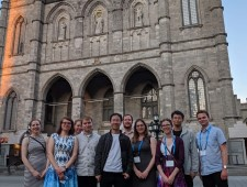 U Waterloo Students at Canadian Astronomical Society in Montreal