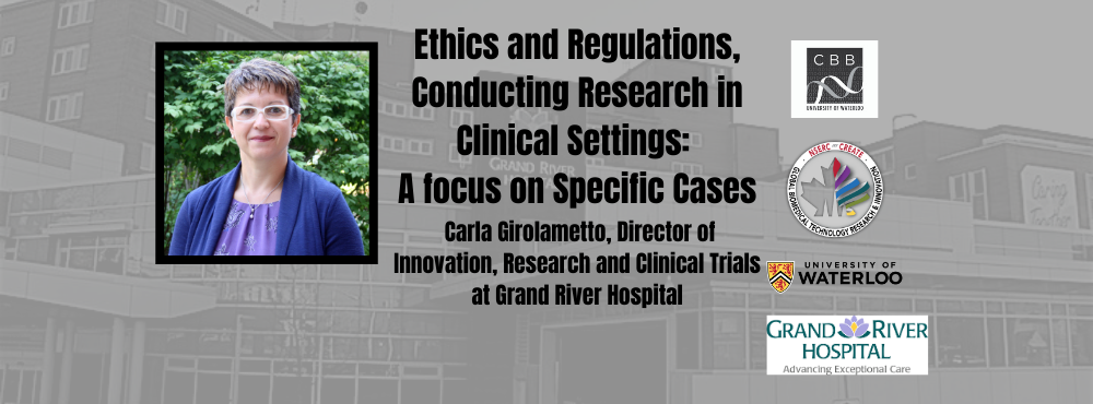 Ethics and Regulations, Conducting Research in Clinical Settings: A focus on Specific Cases with Carla Girolametto