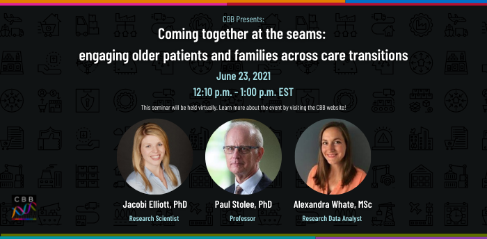 Coming together at the seams:  engaging older patients and families across care transitions
