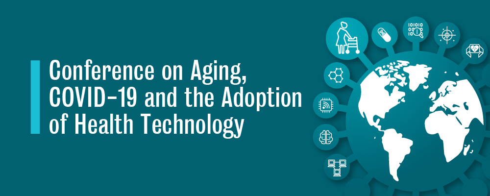 University of Waterloo Virtual Conference on Aging, COVID-19 and the Adoption of Health Technology header