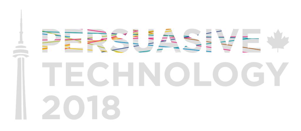 Persuasive Technology 2018 banner
