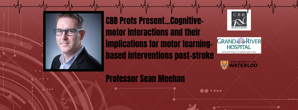 Profs present...Cognitive motor interactions and their implications for motor learning-based intervientions post-stroke
