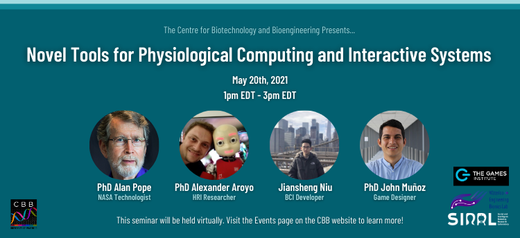 Novel Tools for Physiological Computing and Interactive Systems Promotional Graphic
