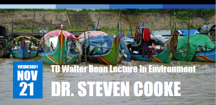 TD Walter Bean Lecture in Environment