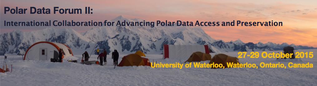 Polar Data Forum II.