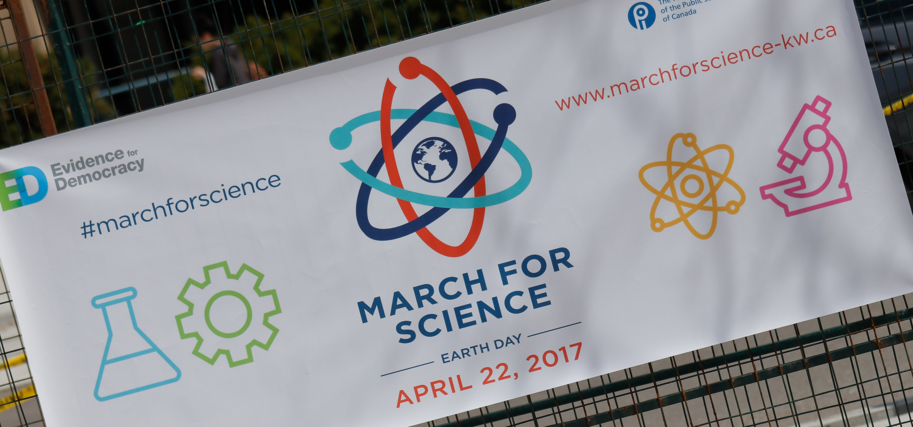 KW March For Science banner