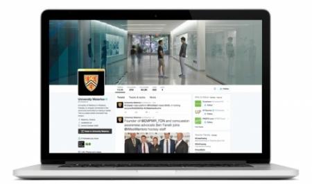Twitter account branding